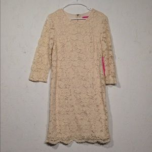 Betsey Johnson | NWT Ivory Lace Dress Size 10